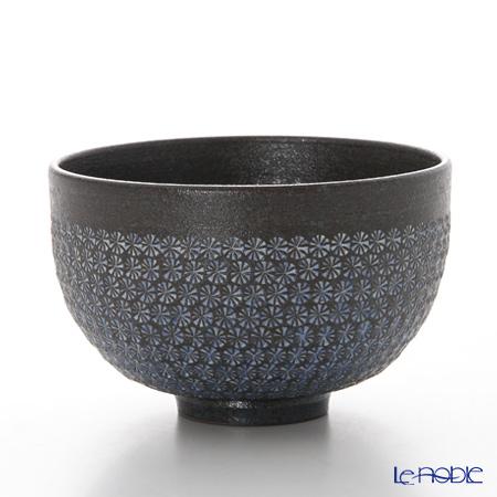 京焼・清水焼 抹茶碗 M0033南蛮三島詰