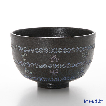 京焼・清水焼 抹茶碗 M0034南蛮帯三島