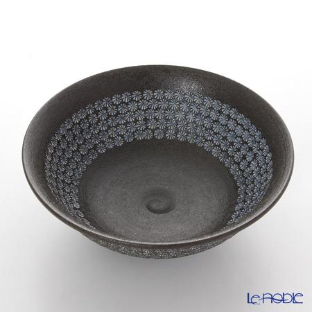 Kyo ware / Kiyomizu ware 'Nanban Mishimazume' M0035 Matcha Bowl 320ml
