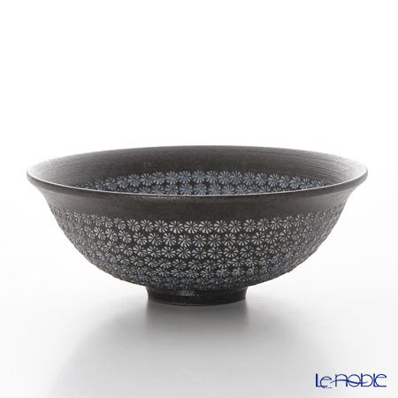 京焼・清水焼 平茶碗 M0035 南蛮三島詰