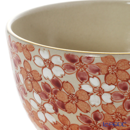 Kyo ware / Kiyomizu ware 'Sai Sakurazume (Cherry Blossom)' S0041 Matcha Bowl 480ml