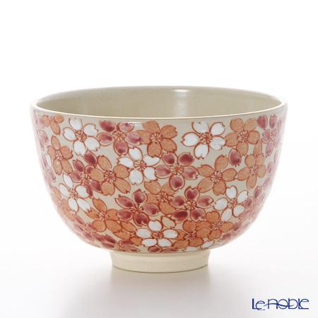京焼・清水焼 抹茶碗 S0041 彩桜詰