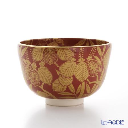 京焼・清水焼 抹茶碗 K0068金襴手(きんらんで) 桐