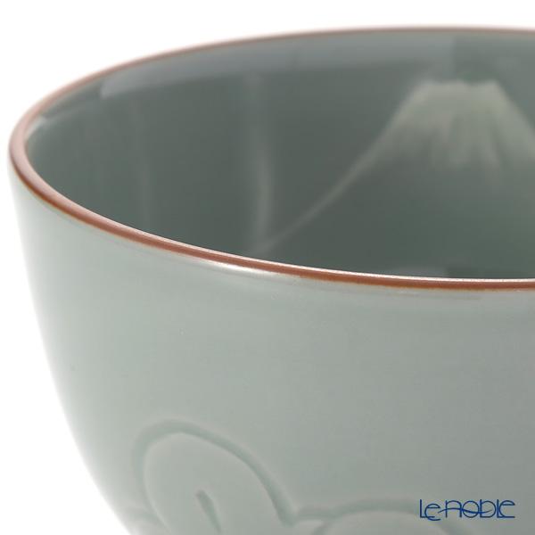 京焼・清水焼 抹茶碗 S001030富士青瓷松千鳥 550ml