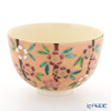 Kyo & Kiyomizu pottery tea bowls S0043 Red weeping cherry tree 480 ml