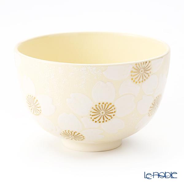 京焼・清水焼 抹茶碗 K0012 桜吹付銀彩