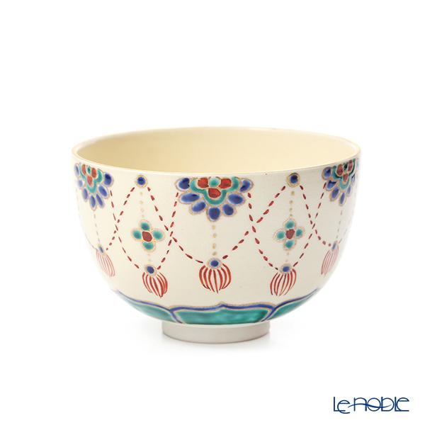 京焼・清水焼 抹茶碗 S0044瓔珞紋 480ml