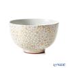 Kyo ware / Kiyomizu ware 'Kinsai Sakurazume / Cherry Blossom' T00137 Matcha Bowl 430ml