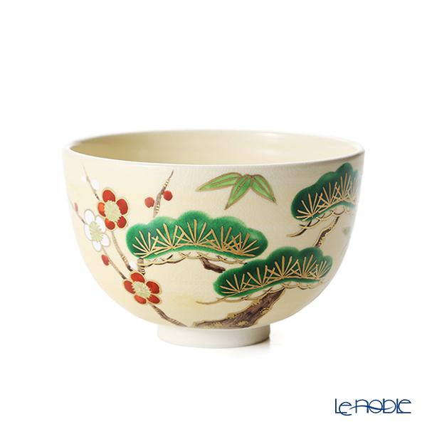 京焼・清水焼 抹茶碗 K00127金彩松竹梅