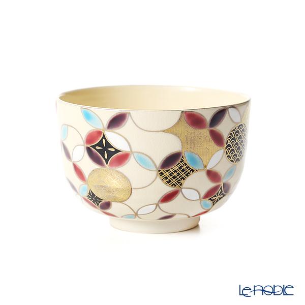 京焼・清水焼 抹茶碗(小茶碗) K00136金彩七宝丸紋