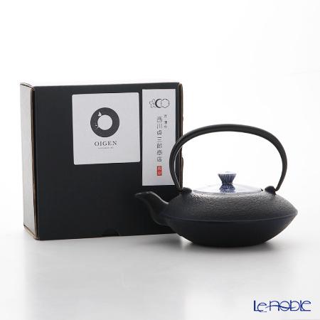 Kyo ware / Kiyomizu ware Sometsuke Blue Kikyo Tokusa T0107 Iron Tea Pot (S) 410ml