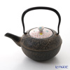 Kyo ware / Kiyomizu ware 'Sai Unkin' K0108 Iron Tea Pot Black 500ml