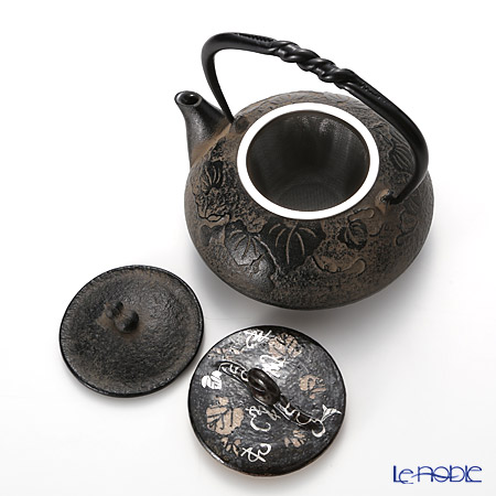 Kyo ware / Kiyomizu ware Gourd M0132 Iron Tea Pot 510ml