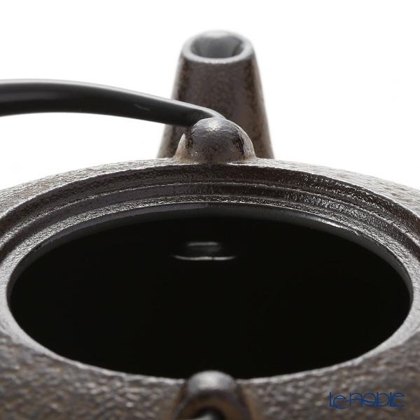 Kyo ware / Kiyomizu ware 'Gold Cherry Flower' T0166 Iron Tea Pot Brown (S) 410ml
