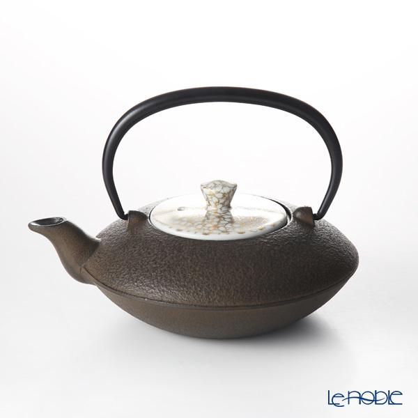 京焼・清水焼 鉄瓶急須・茶 T0166 金彩桜詰 小 410ml