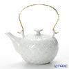 Kyo ware / Kiyomizu ware 'Hakuji Shippomon' S0210 Tea Pot 600ml (L)