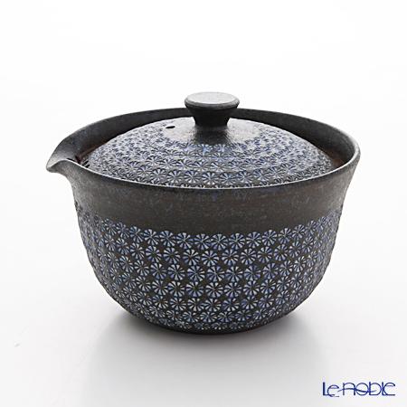京焼・清水焼 ティーポット(宝瓶) M0290 南蛮三島詰 270ml