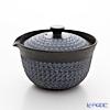 Kyo ware / Kiyomizu ware 'Nanban Mishimazume' M0290 Hobin Tea Pot (Bowl) 270ml
