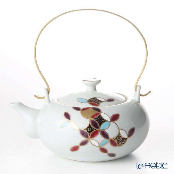 Kyo ware / Kiyomizu ware 'Shippo Marumon' K0225 Tea Pot 600ml