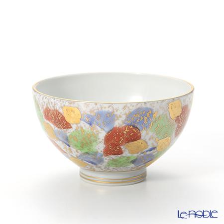 T. Nishikawa & Co. Inc - Kyoto ware / Kiyomizu ware  Kumidashi Teacup L, Kingosai L, S0345