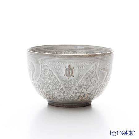 Kyo ware / Kiyomizu ware 'Tsurukame' K0346 Tea Cup 150ml