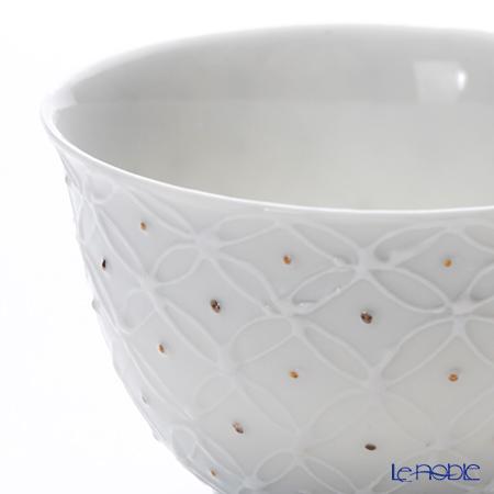 Kyo ware / Kiyomizu ware 'Hakuji Shippomon' S0350 Tea Cup 120ml (S)