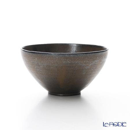 京焼・清水焼 汲出し碗 M0362鉄釉