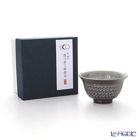 Kyo ware / Kiyomizu ware 'Namban Obi Mishima' M0364 Tea Cup 140ml