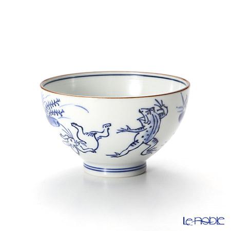 T. Nishikawa & Co. Inc - Kyoto ware / Kiyomizu ware  Kumidashi Teacup L, Sometsuke Kozanji L, S0375