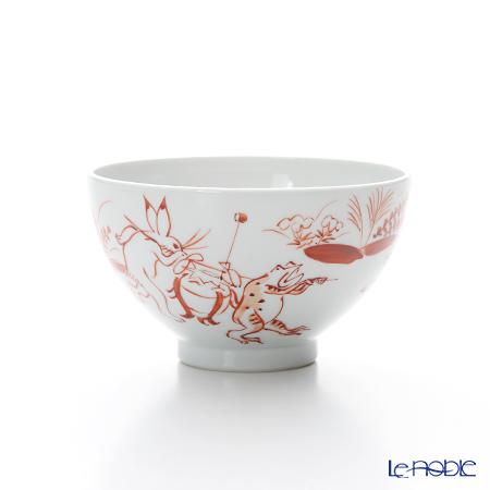 T. Nishikawa & Co. Inc - Kyoto ware / Kiyomizu ware  Kumidashi Teacup L, Aka Kozanji L, S0376