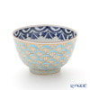 Kyo ware / Kiyomizu ware 'Gilded(Gold) Seigaiha' K0331 Tea Cup & Saucer 180ml