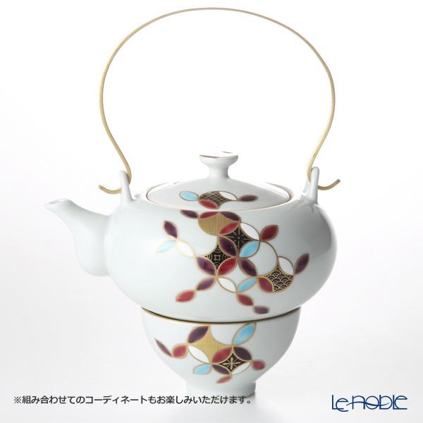 Kyo ware / Kiyomizu ware 'Shippo Marumon' K0397 Tea Cup & Saucer 200ml