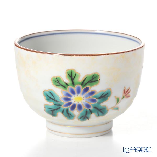 Kyo ware / Kiyomizu ware 'Kinsaihanakawari' S2322 Tea Cup 250ml (set of 5)