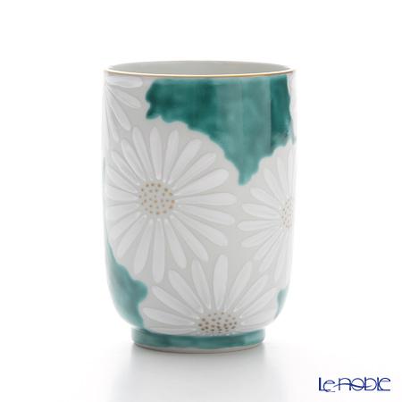 T. Nishikawa & Co. Inc - Kyoto ware / Kiyomizu ware  Teacup, Marguerite GR, K0418