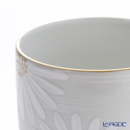 Kyo ware / Kiyomizu ware 'Marguerite' White K0420 Tea Cup 220ml