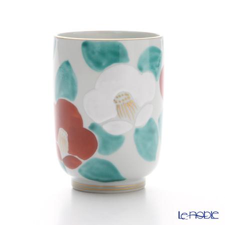 T. Nishikawa & Co. Inc - Kyoto ware / Kiyomizu ware  Teacup, Camellia RD, K0422