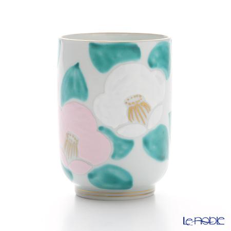 T. Nishikawa & Co. Inc - Kyoto ware / Kiyomizu ware  Teacup, Camellia PK, K0423