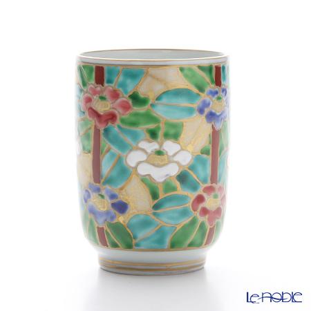 T. Nishikawa & Co. Inc - Kyoto ware / Kiyomizu ware  Teacup, Gilded Camellia, K0426