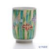 Kyo ware / Kiyomizu ware 'Gilded(Gold) Iris' K0427 Tea Cup 220ml