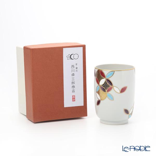 Kyo ware / Kiyomizu ware 'Shippo Marumon' K0441 Tea Cup 220ml
