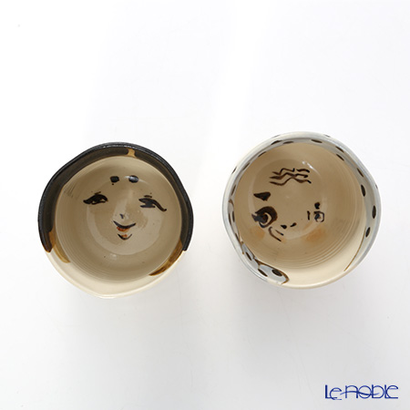 京焼・清水焼 組湯呑 ペア S0490百福