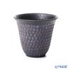 Kyo ware / Kiyomizu ware 'Nanban Mishimazume' Pink M0781 Free Cup Tumbler 300ml
