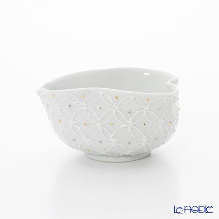 T. Nishikawa & Co. Inc - Kyoto ware / Kiyomizu ware  Container, Hakuji Shippomon GD&SV, S0833