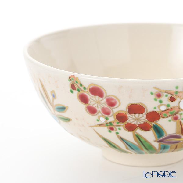 Kyo ware / Kiyomizu ware 'Shiki Saika' S2509 Rice Bowl (set of 2)