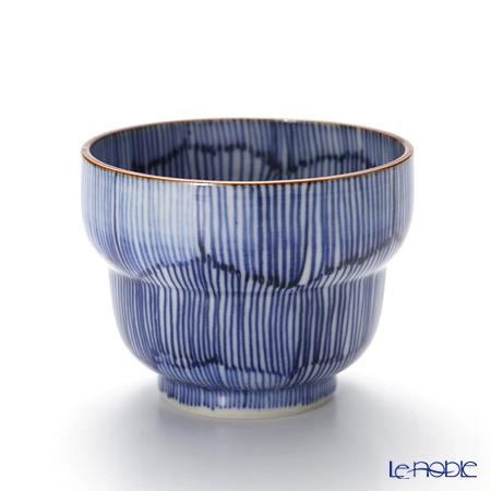 Kyo ware / Kiyomizu ware 'Kikyo Tokusa' T0923 Sake Cup 100ml