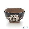 Kyo ware / Kiyomizu ware 'Tetsue Kikkamon' Sake / Tea Cup 80ml