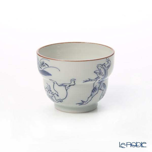 京焼・清水焼 ぐい呑 S09105 染付高山寺