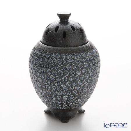 京焼・清水焼 香炉 M1052 南蛮三島詰