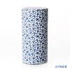 Kyo & Kiyomizu pottery tea cans S0880 Cherry Blossom white 200gburi ki製