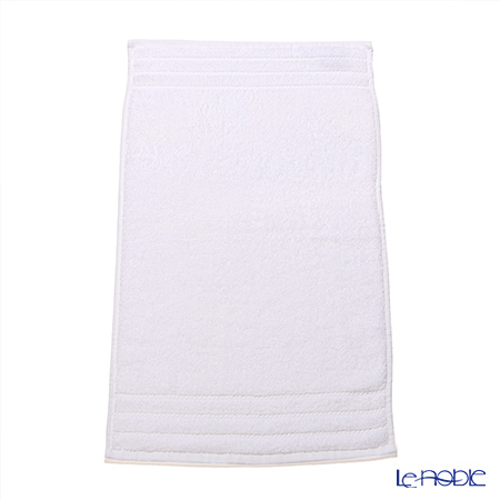 Micro cotton regular White Mini towel & face towel set (with box)